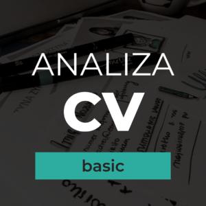analiza cv basic